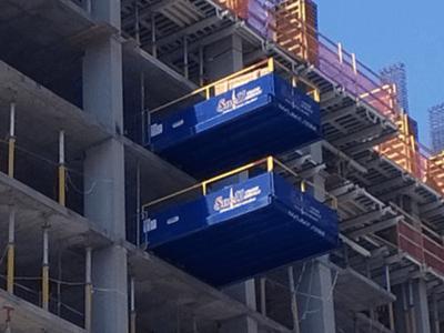 Tower Crane Loading Platforms and Decks